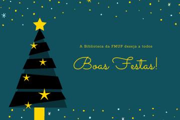 Boas Festas! ✨